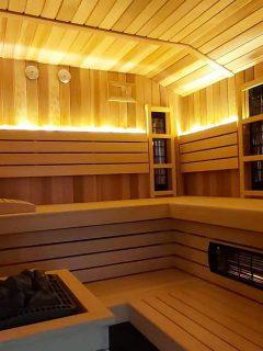 montaż sauny w domu