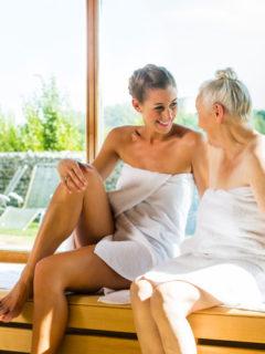 sauna na dzień mamy