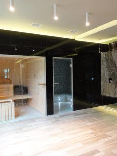 instalacja sauny w domu